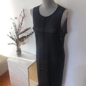 Lululemon Lab Mesh Midi Dress